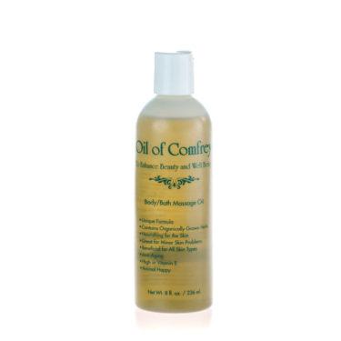 Comfrey Oil 8oz Full Bottle